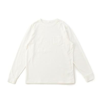 メンズ 【在庫限り】オーガニックコットン ヘビーウェイト無地Tシャツ ホワイト LL