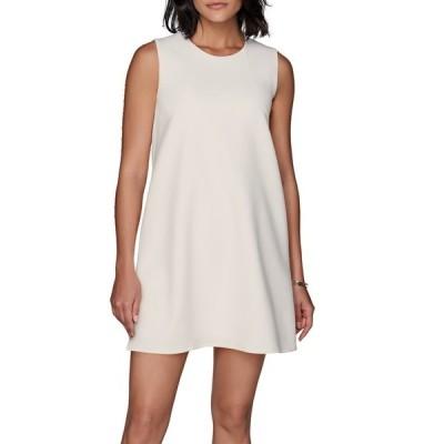 スイスタジオ レディース ワンピース トップス Fit & Flare Wool Blend Dress OFF WHITE