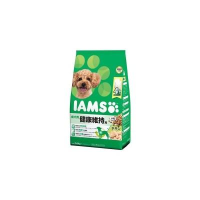 【J】 マース アイムス 成犬用 健康維持用 チキン味 小粒 (2.6kg) ドッグフード ドライフード