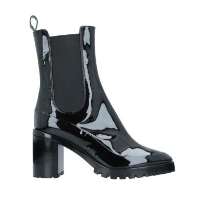 ロートレ ショーズ L' AUTRE CHOSE ショートブーツ ブラック 38.5 革 ショートブーツ