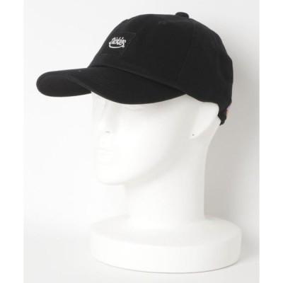 帽子 キャップ Dickies/ディッキーズ 【別注】 スクエアロゴ 刺繍 キャップ