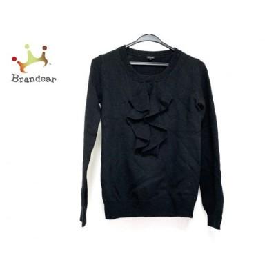 ジョセフ JOSEPH 長袖セーター サイズM レディース 美品 黒 フリル   スペシャル特価 20210106