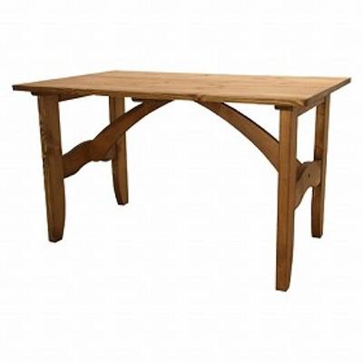 【レビューを書いてポイント5%GET】 ダイニングテーブル 長方形 カントリー ( 机 食卓 送料無料 )