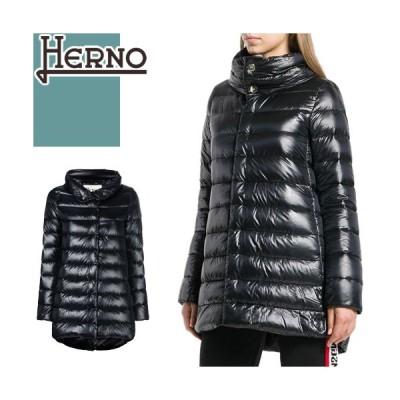 ヘルノ HERNO ダウン ダウンジャケット ダウンコート アメリア PI0505DIC 12017 レディース 大きいサイズ ダウンライト 軽量 黒 ブラック