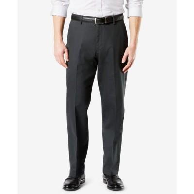 ドッカーズ メンズ カジュアルパンツ ボトムス Men's Signature Lux Cotton Relaxed Fit Creased Stretch Khaki Pants