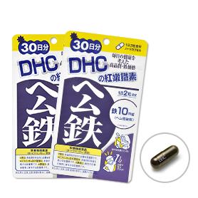 DHC紅嫩鐵素(30日份)2包組
