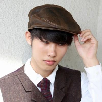 Bailey 帽子 ハンチング 秋 冬 大きいサイズ 高品質 ディストレストレザー ベイリー レザーハン