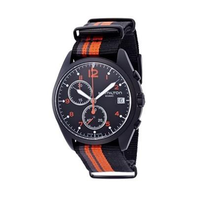 Hamilton Khaki Aviation Pilot Pioneer Chrono Quartz Men's Quartz Watch H76582933 並行輸入品