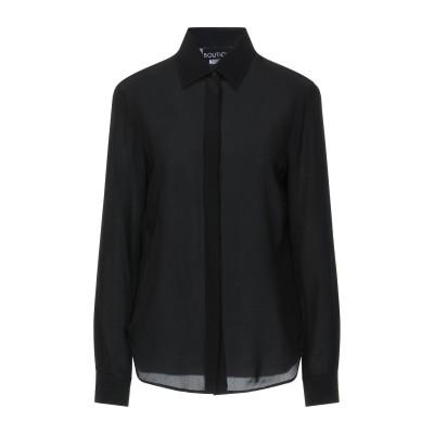 BOUTIQUE MOSCHINO シャツ ブラック 44 シルク 100% シャツ