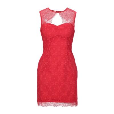 ゲス GUESS ミニワンピース&ドレス レッド M ナイロン 85% / ポリウレタン 15% ミニワンピース&ドレス