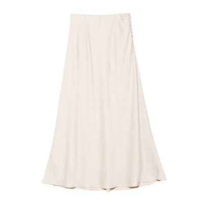 【公式】LAGUNAMOON(ラグナムーン)ファジングサテンナロースカート