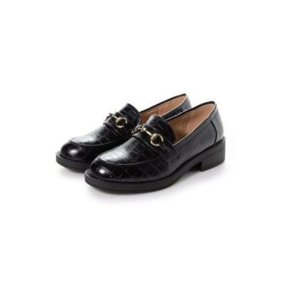 SFW サンエープラスフェミニン AAA+ feminine AAA+ feminine おじ靴'マニッシュビットローファー/3572 (ブラッククロ