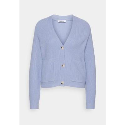 エディテッド レディース ファッション NANJA - Cardigan - blue