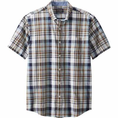ペンドルトン Pendleton メンズ 半袖シャツ トップス Madras SS Shirt Blue/Brown Plaid