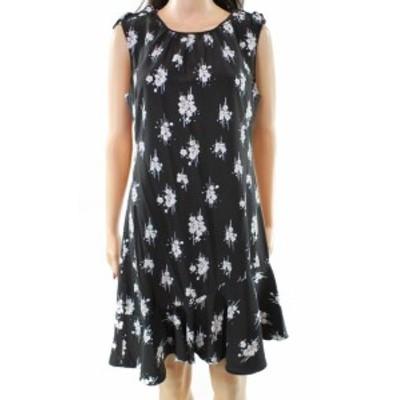 Derek Lam デレクラム ファッション ドレス Derek Lam 10 Crosby NEW Black Womens Size 6 Floral Sheath Dress