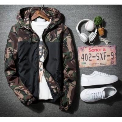 4色 メンズリタリージャケット迷彩柄 春物 S~5XL