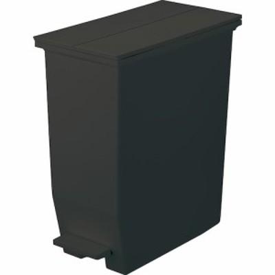 リス ソロウ(SOLOW) ペダルオープンツイン 35L ブラック│ゴミ箱 キッチン用ゴミ箱