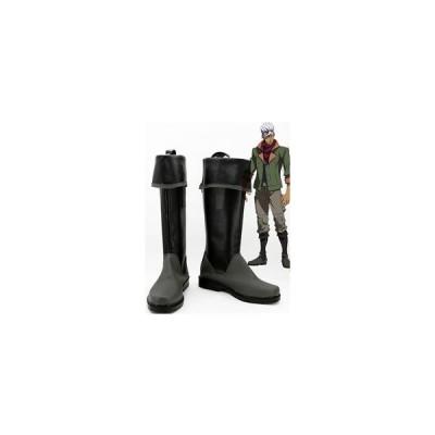 コスプレ靴   機動戦士ガンダム 鉄血のオルフェンズ   オルガ・イツカ  コスプレブーツ オーダーサイズ製作可能m2588