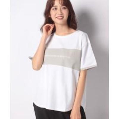 VACASTA(バケスタ)【BENETTON】カラーステッチロゴTシャツ