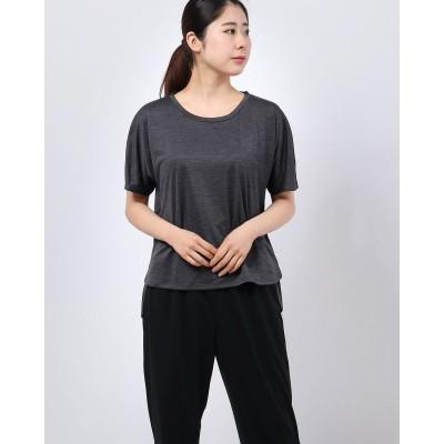 イグニオ IGNIO レディース 半袖機能Tシャツ IG-9A23010TS ク