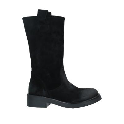 UNLACE ブーツ ブラック 35 革 ブーツ