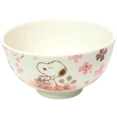 スヌーピー クローバー 茶碗(PK) [ 11 x 6cm ] 【 茶碗 】 【 ギフト プレゼント 贈り物 贈答品 結婚祝い 内祝い 誕生日 ピクニック 】