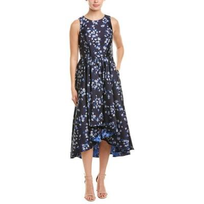 ショシャーナ ワンピース トップス レディース Shoshanna Midnight A-Line Dress palace blue/navy/silver
