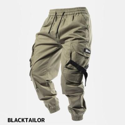 ブラックテイラー カーゴパンツ C4 CARGO GREEN スト系 ストリート メンズ ジョガーパンツ メンズファッション