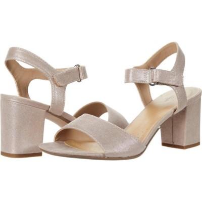 クラークス Clarks レディース サンダル・ミュール シューズ・靴 Deva Alice Lavender Metallic Textile