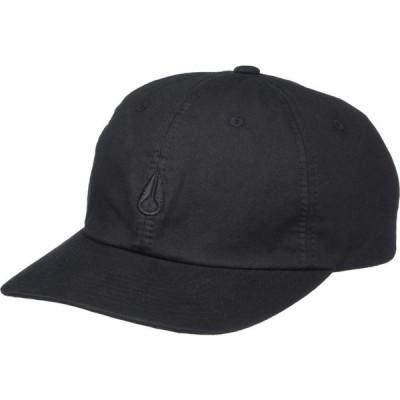 ニクソン Nixon メンズ 帽子 スナップバック Agent Strapback Hat Black