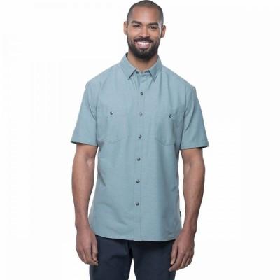 キュール KUHL メンズ 半袖シャツ トップス reklaimr shirt Metal Green