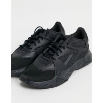 リーボック メンズ スニーカー シューズ Reebok Classics Preseason.01 sneakers in black Black