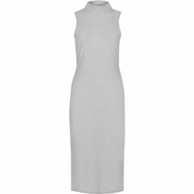 ファブリック Fabric レディース ワンピース ワンピース・ドレス Brushed Dress Grey
