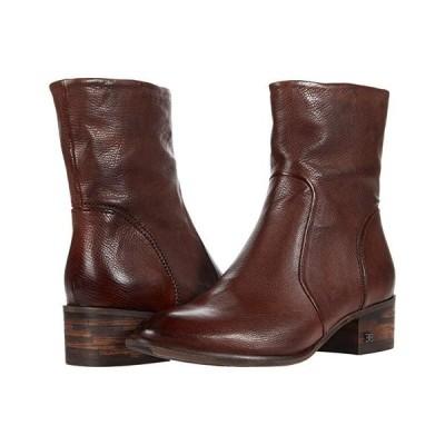 サム エデルマン Hilary レディース ブーツ Dark Brown Distressed Calf Leather