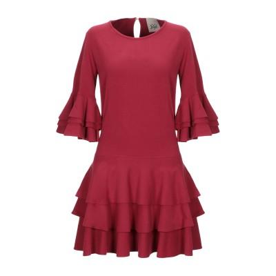 ジジル JIJIL ミニワンピース&ドレス ボルドー 40 コットン 94% / ポリウレタン 6% ミニワンピース&ドレス