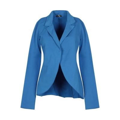 AMAMI テーラードジャケット ブルー M コットン 95% / ポリウレタン 5% テーラードジャケット