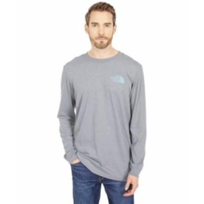 ノースフェイス メンズ シャツ トップス Long Sleeve TNF¢ Sleeve Hit T-Shirt TNF Medium Grey