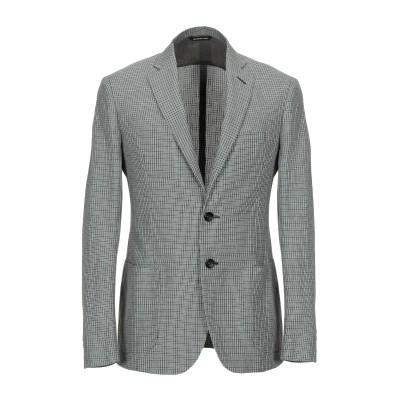トネッロ TONELLO テーラードジャケット グリーン 52 麻 50% / コットン 50% テーラードジャケット
