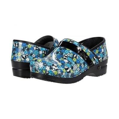 Sanita サニタ レディース 女性用 シューズ 靴 クロッグ ミュール Panda Flower - Multicolor