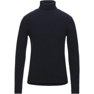 ロベルトコリーナ ROBERTO COLLINA メンズ ニット・セーター タートルネック トップス turtleneck Dark blue