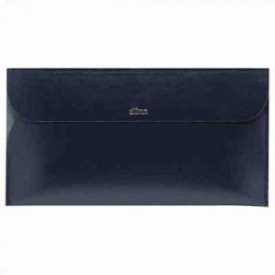 長財布 dunn world wallet ブルーブラック DWW01