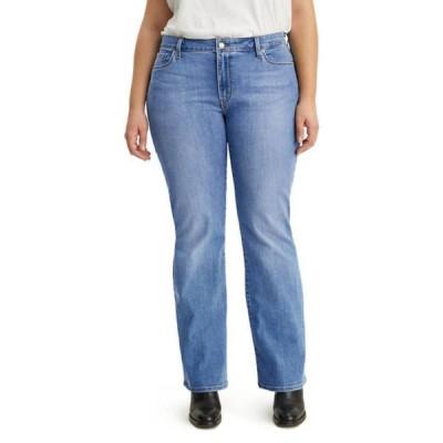 リーバイス レディース デニムパンツ ボトムス Plus Size 415 Classic Bootcut Jeans