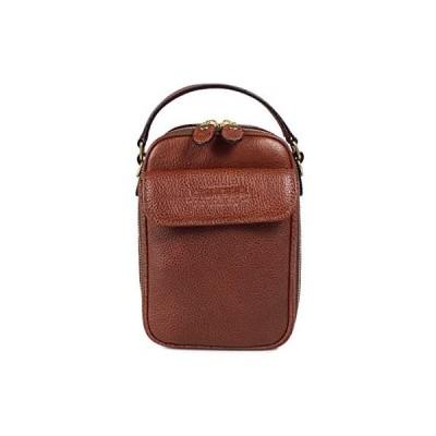 青木鞄(Lugard)2wayミニショルダーバッグ メンズ 革 [NEVADA No.4965] (ブラウン)