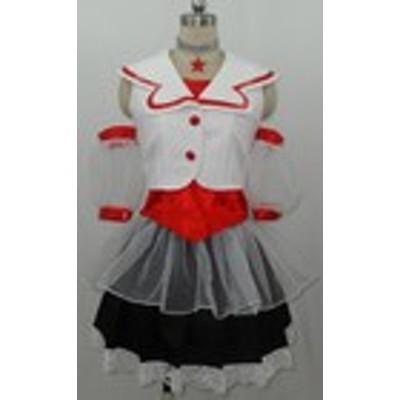 Gargamel アイドル ももいろクローバー ももクロ Z女戦争 百田夏菜子 衣装 レッド コスチューム パーティー イベント コスプレ衣装cc1047