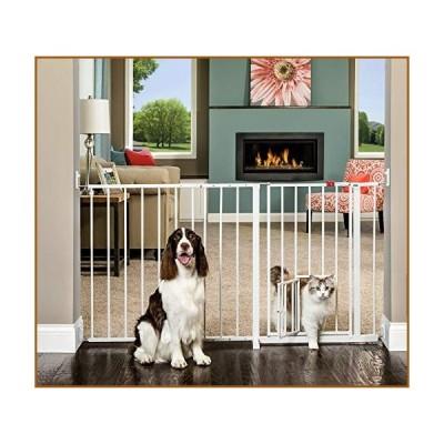 Carlson(カールソンペット) Carlson Maxi Gate with Pet Door並行輸入品