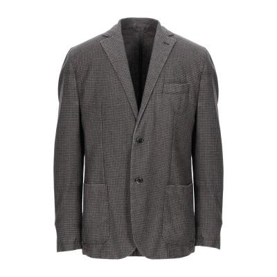LUIGI BIANCHI Mantova テーラードジャケット 鉛色 56 バージンウール 67% / ポリエステル 23% / ナイロン 10%