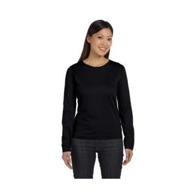 レディース 衣類 トップス Apparel Womens Long Sleeve T-Shirt [] Tシャツ
