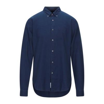 クローズド CLOSED シャツ ダークブルー S コットン 100% シャツ