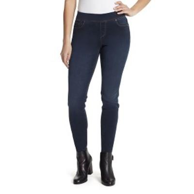 グロリアバンデービルト レディース カジュアルパンツ ボトムス Avery Pull-On Short Length Pants Dark Blue