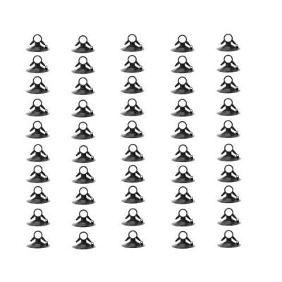TOMMYFIELD サンシェード用吸盤 サンシェード シェード 吸盤 強力 車 フック 交換 固定 クリップ 50個 (黒)
